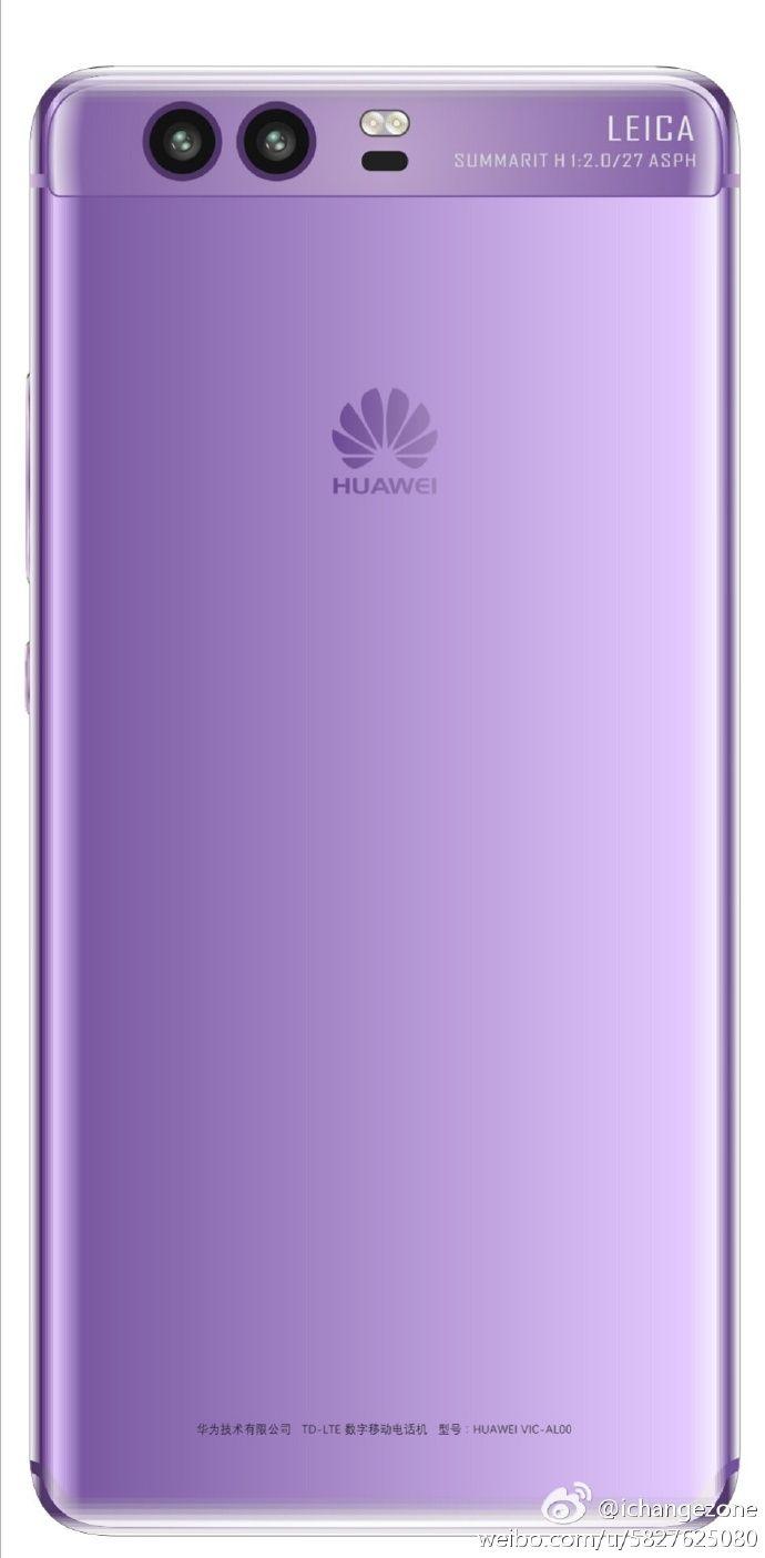 Huawei P10 показал еще два своих цвета на рендерах – фото 2