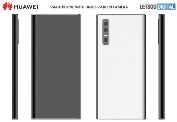 Как выглядит смартфон Huawei с подэкранной камерой – фото 2