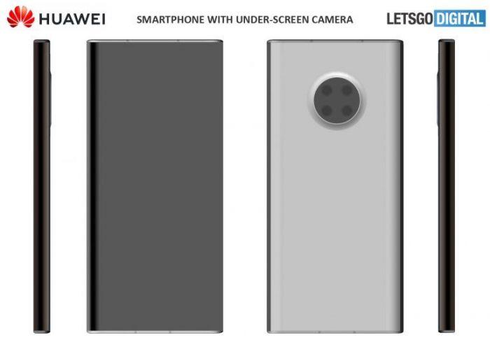 Как выглядит смартфон Huawei с подэкранной камерой – фото 3
