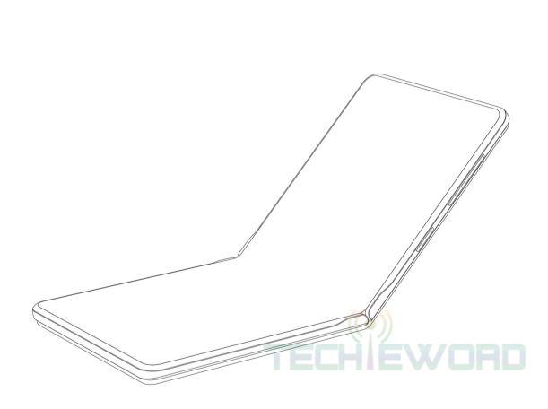Huawei запатентовала сгибаемую раскладушку – фото 2