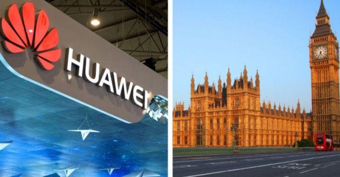 Huawei Великобритания
