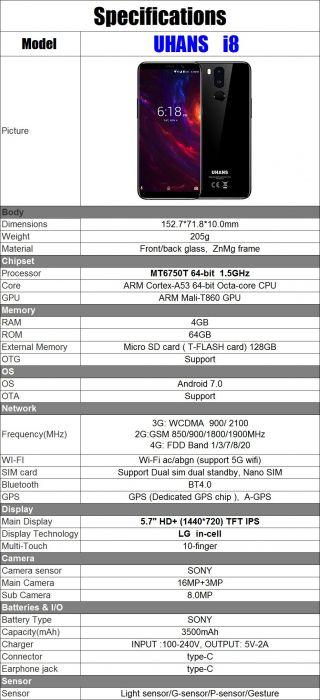 Успей купить UHANS i8 по выгодной цене – фото 2