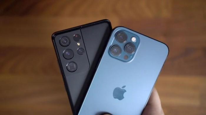 iPhone 12 Pro Max vs Samsung Galaxy S21 Ultra: сравнение камер – фото 1