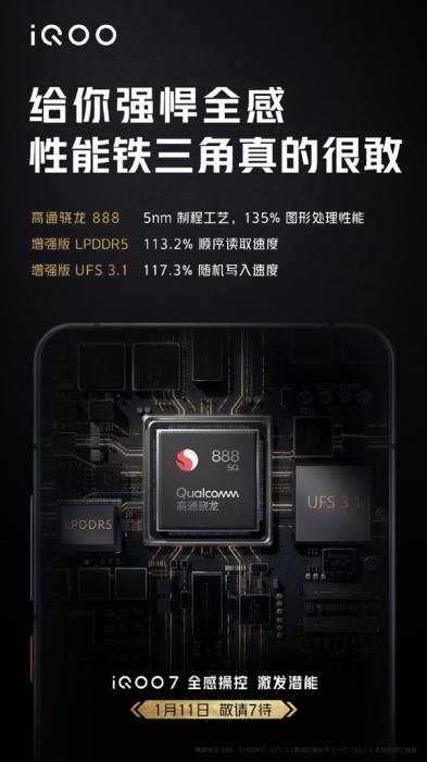 Объявлена дата презентации iQOO 7 с Snapdragon 888 – фото 2