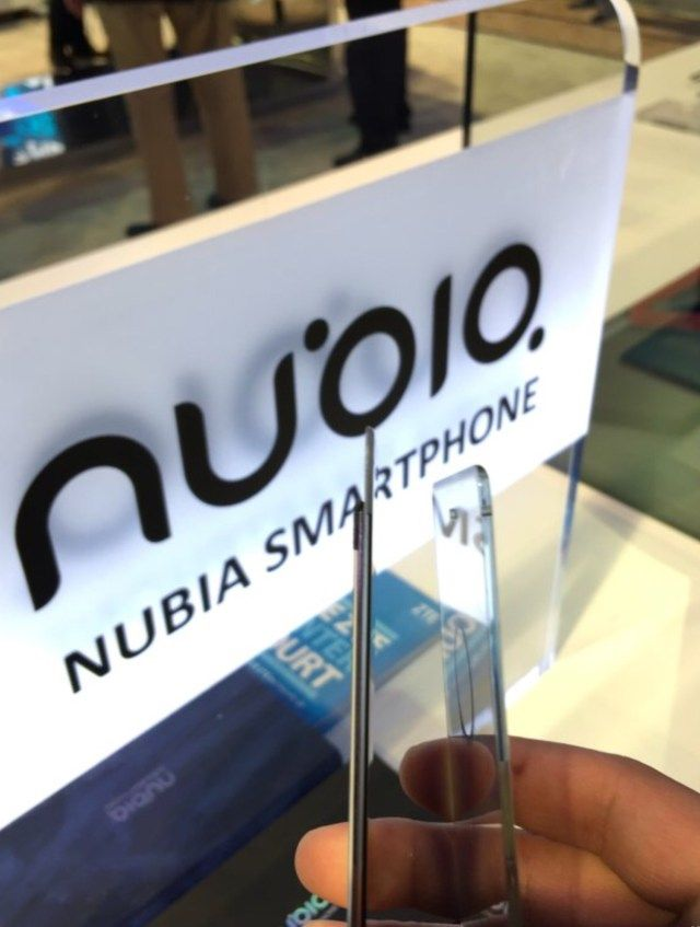 Nubia Z11 будет безрамочным и в тонком корпусе – фото 1