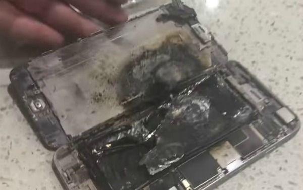 Аккумуляторы iPhone взрываются прямо в магазинах Apple Store – фото 2
