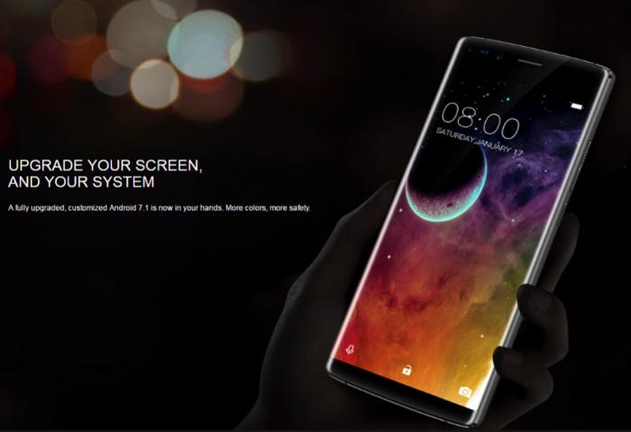 Doogee показала концептуальный безрамочный смартфон-слайдер – фото 2