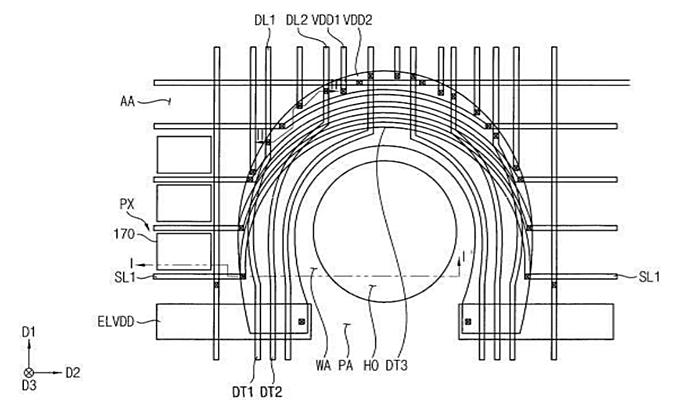 Samsung запатентовала новое решение со сканером отпечатков пальцев на передней панели – фото 2