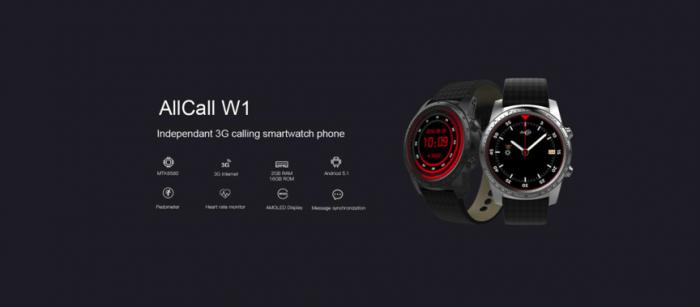 Смарт-часы AllCall W1 — это как твой смартфон, но в миниатюре – фото 1