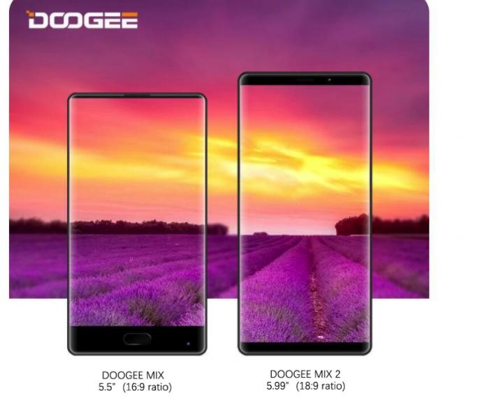 Doogee MIX 2 — «вкусности» в дизайне – фото 3