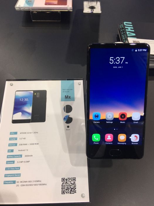UHANS показала пять смартфонов на выставке Asia World-Expo – фото 9
