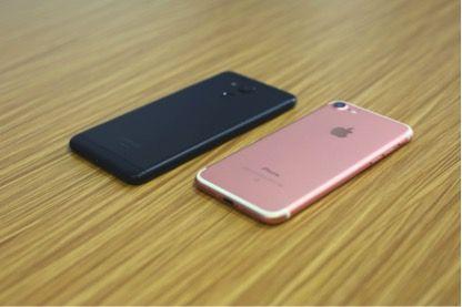 Vernee M5 против iPhone 7: сравнение дизайна – фото 5