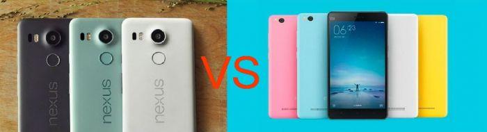 Nexus 5X против Xiaomi Mi4c