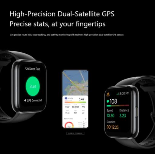 Представили Realme Watch 2 Pro: 90 спортивных режимов и 2 недели работы – фото 2