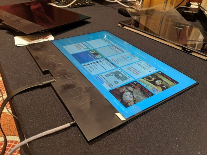 CES 2019: представлен 12,5-дюймовый внешний монитор для смартфона – фото 2