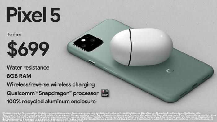 Анонс Google Pixel 5: теперь субфлагман с продвинутой мобильной камерой – фото 2