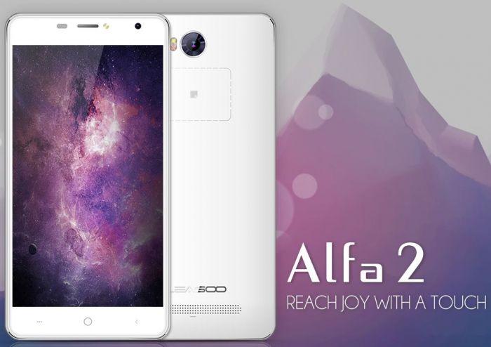 Leagoo Alfa 2: видео (распаковка) смартфона с сенсорной зоной на задней панели – фото 1