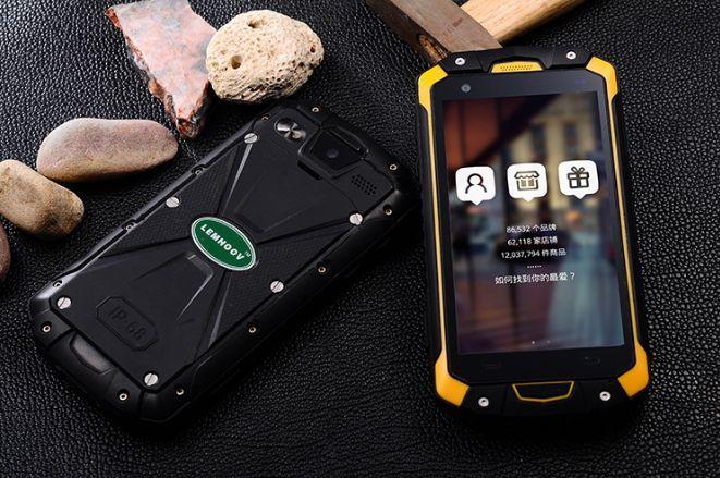 Lemhoow V18 – первый смартфон с классом защиты IP68 на базе процессора МТК6753 – фото 1