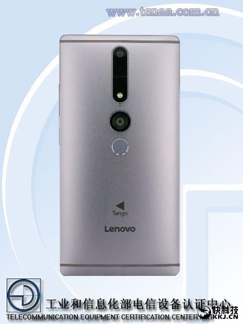 Lenovo Phab 2 Pro с технологией Tango был замечен в TENAA – фото 2
