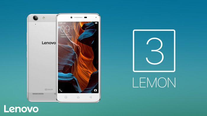 Пример смартфона Lenovo Lemon