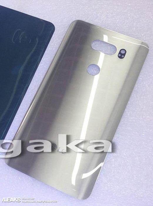 Показали фото задней панели LG V30 – фото 1