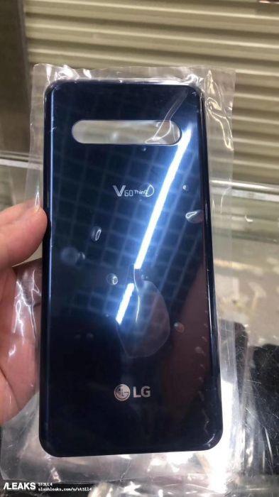 Появились фото, проливающие свет на дизайн LG V60 ThinQ