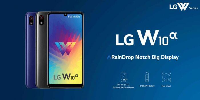 Представлен простой смартфон LG W10 Alpha – фото 1