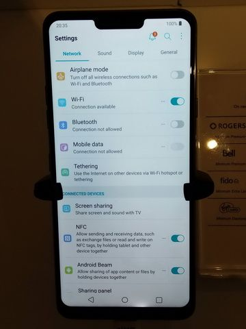 У LG G7 ThinQ обнаружена проблема с дисплеем – фото 1