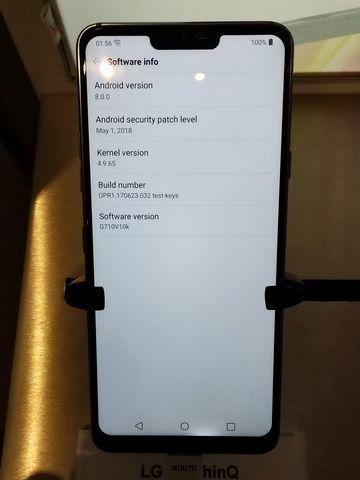 У LG G7 ThinQ обнаружена проблема с дисплеем – фото 2