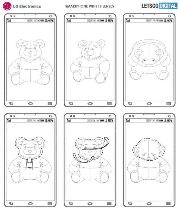 Новый патент LG переосмысливает количество камер в смартфоне – фото 2