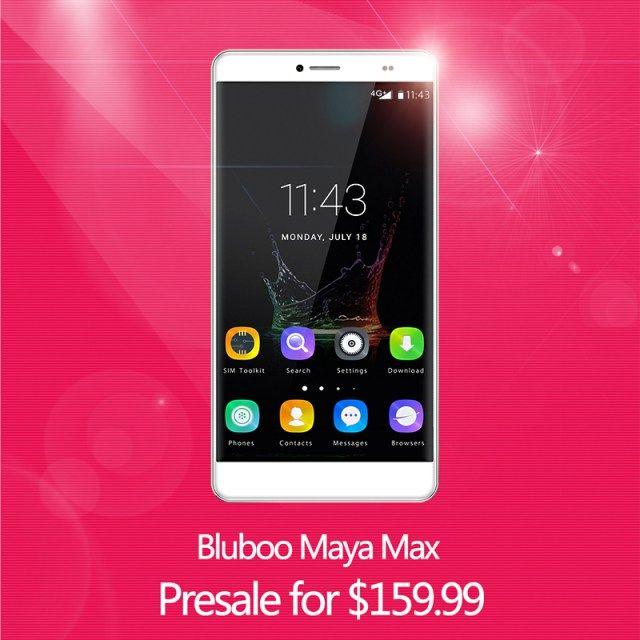 Bluboo Maya Max будет доступен по цене $159,99 в период распродажи – фото 1
