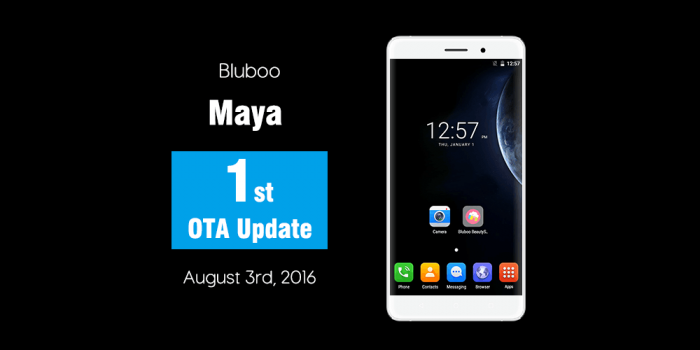 Bluboo Maya получил первое обновление – фото 1