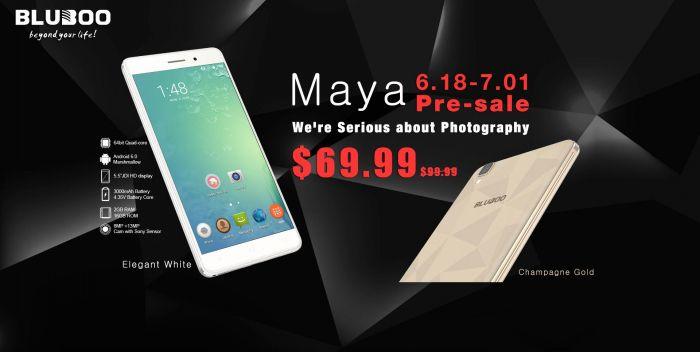 Bluboo Maya, Xtouch, Xfire, Picasso, X9 и умные часы Bluboo Uwatch успей купить за $9,99 – фото 1