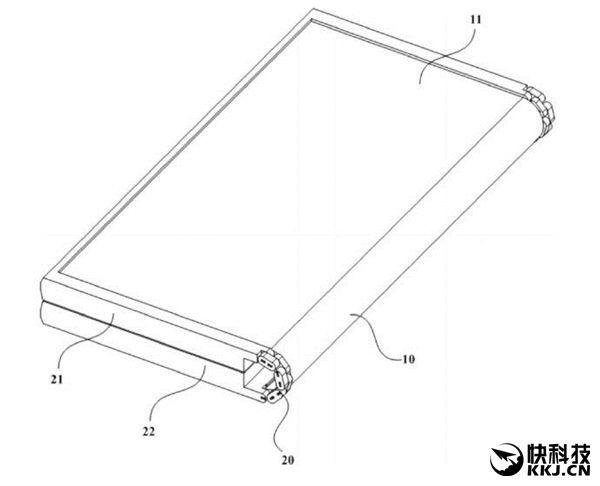 Meizu патентует гаджет с гибким дисплеем – фото 2