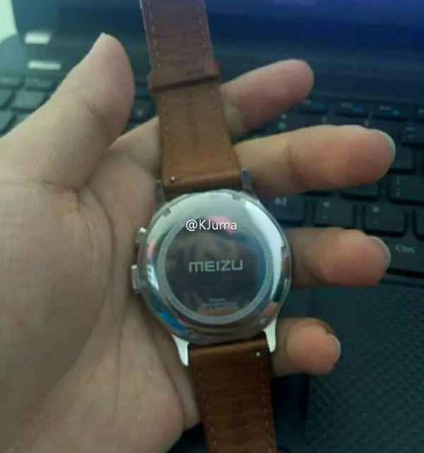 Умные часы Meizu на шпионском фото – фото 1