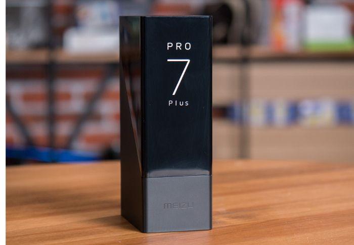 Дизайн Meizu Pro 7 Plus