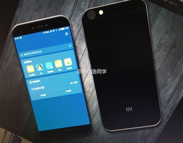 Xiaomi Mi 5c (Meri) все ближе к своему дебюту: очередные изображения предполагаемой новинки – фото 1