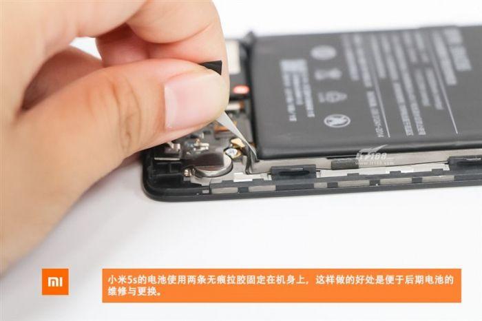 Xiaomi Mi 5S в топовой версии разобрали до винтика – фото 11
