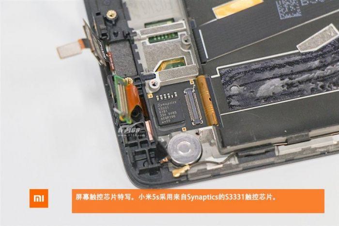 Xiaomi Mi 5S в топовой версии разобрали до винтика – фото 17