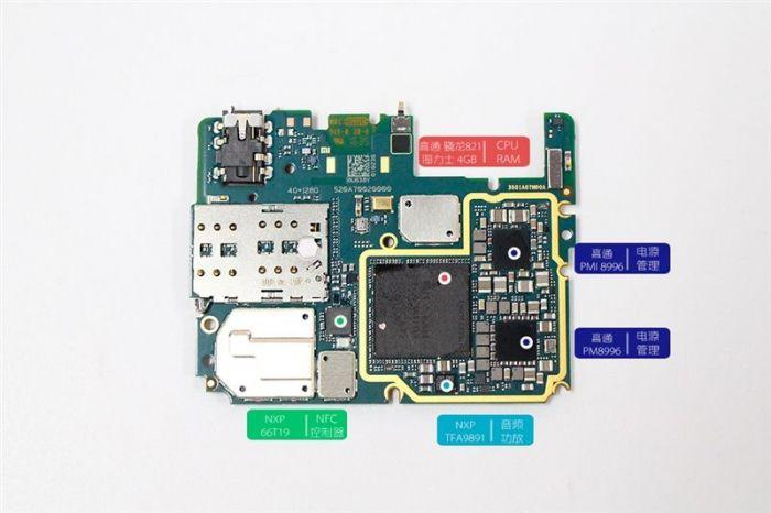 Xiaomi Mi 5S в топовой версии разобрали до винтика – фото 22