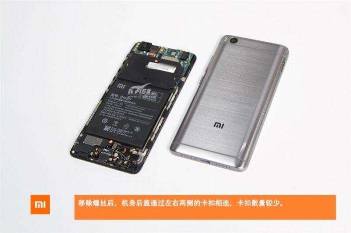 Xiaomi Mi 5S в топовой версии разобрали до винтика – фото 5