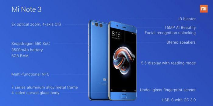Анонс Xiaomi Mi Note 3: для тех, кому нужен Xiaomi Mi6 побольше – фото 6