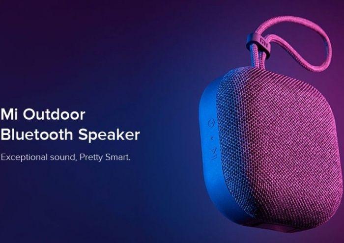 Представлена портативная колонка Xiaomi Mi Outdoor Bluetooth Speaker всего за $20