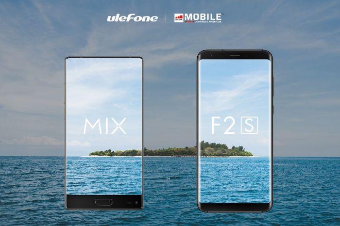 Безрамочные Ulefone MIX 2 и F2 анонсированы на MWCA 2017 – фото 1