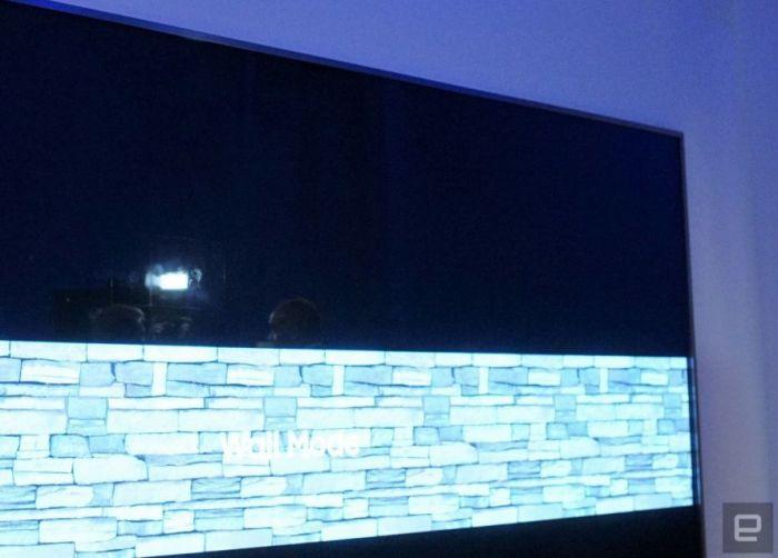 Модульный телевизор-стена на 146 дюймов на выставке CES 2018 – фото 4