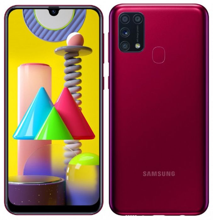 Samsung Galaxy M31: изображения и характеристики
