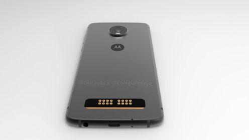 3D-рендер Moto Z4 Play с каплевидным вырезом – фото 3