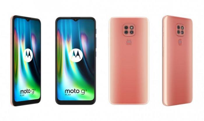 Moto G9 Play в двух расцветках