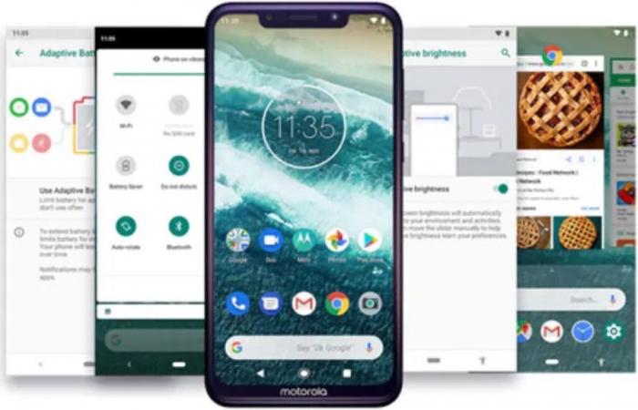 Motorola Android 11 обновление