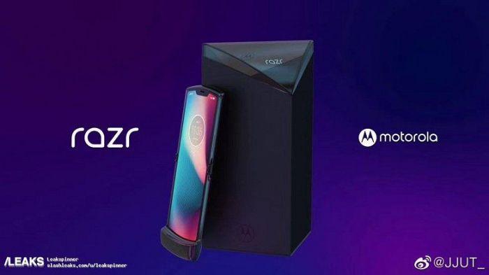 Показали рендеры складного Moto RAZR 2019 – фото 1